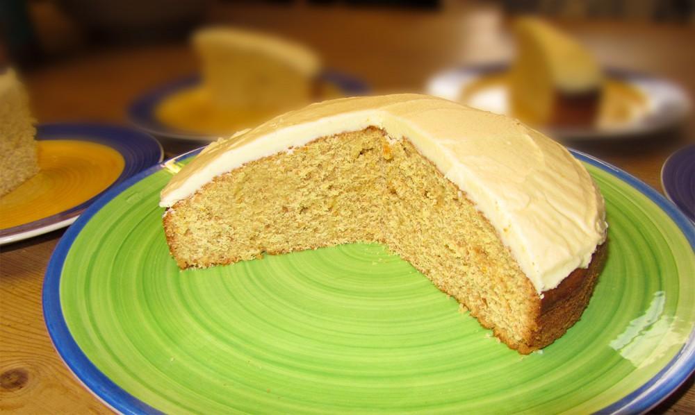 Marmalade cake - Cut