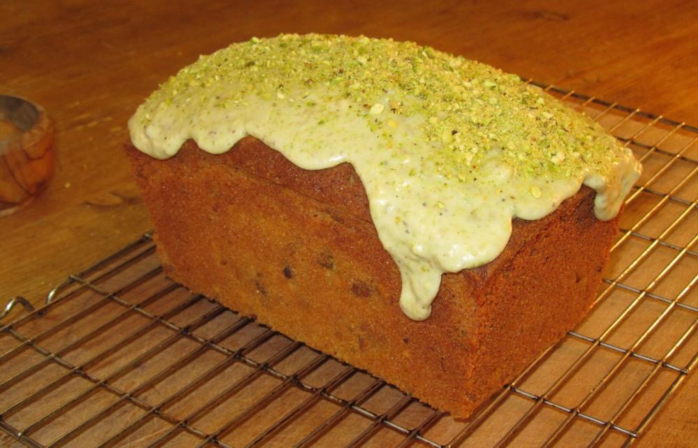Pistachio Loaf Cake Recipe