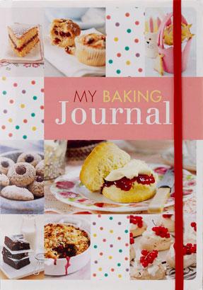 My Baking Journal Cake Book