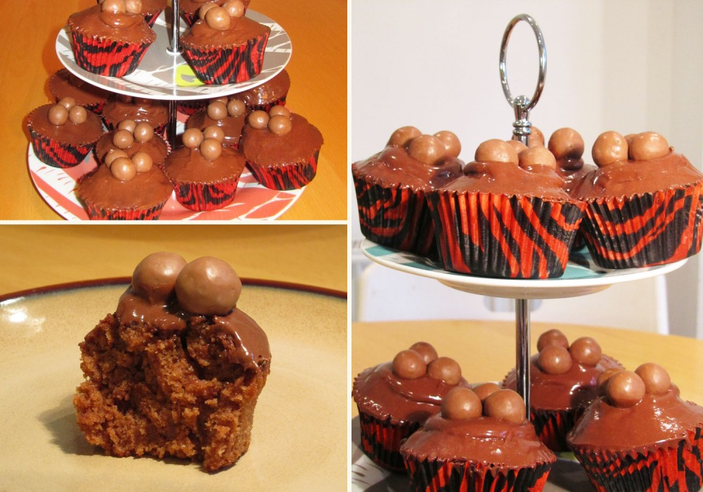 Chocolate Malteser Cupcakes Compilation