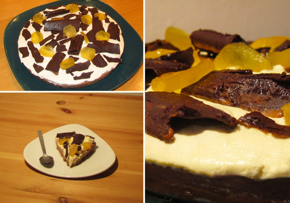 Chocolate, Brandy and Ginger Cheesecake Compilation